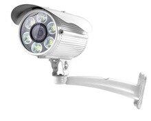 6 White Light LED CMOS 1200TVL HD CCTV Home security camera outdoor DAY NIGHT