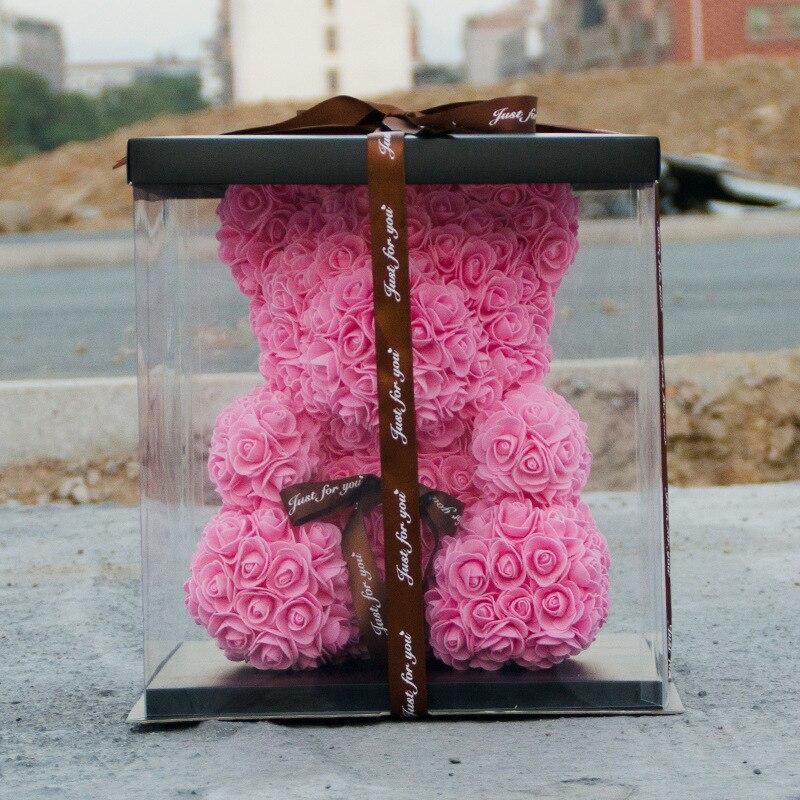 Subiu Urso Decoração da Festa de Casamento Presente do Dia Dos Namorados Namorada Presente Do Miúdo Dos Desenhos Animados Bonitos Super Amor Bonecas do Urso Presente - 3