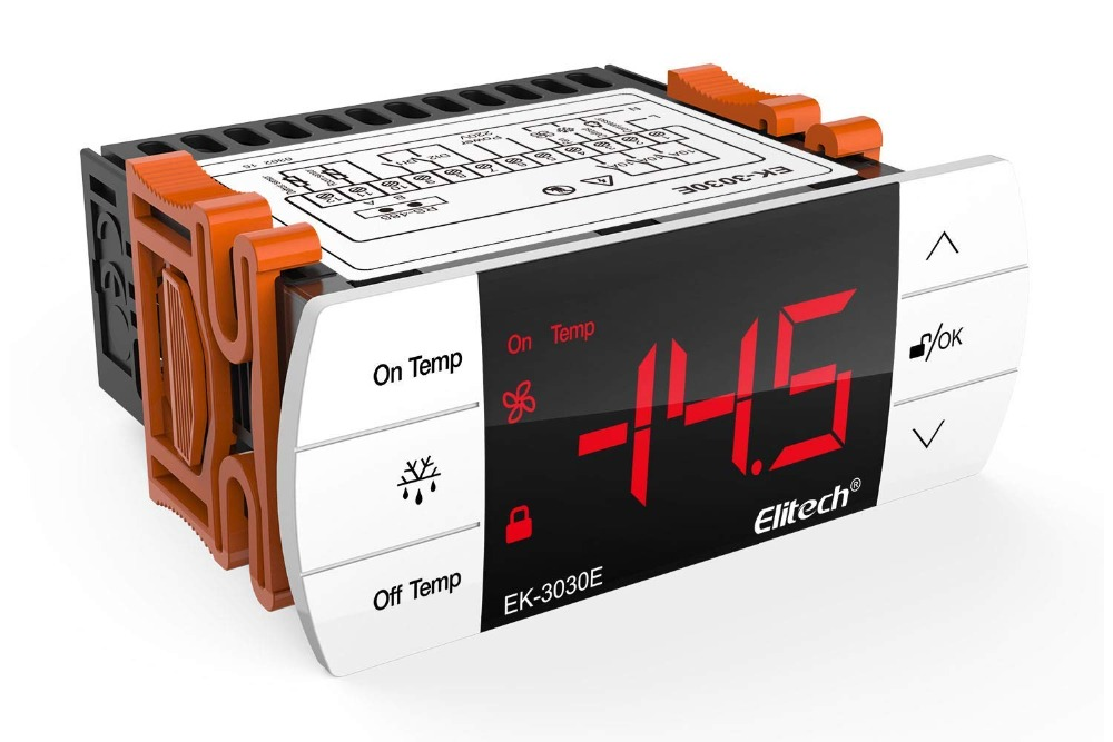 Elitech EK-3030E Temperature Controller Thermostat with Sensor for UK and Europe 220V【1 Year Warranty】