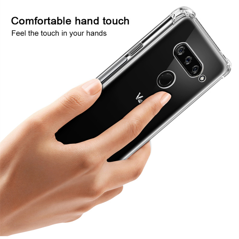 Image 5 - Clear Soft Shockproof Cover Case For LG G6 G7 G8S ThinQ W10 W30 Stylo 3 4 5 K9 K40 K50 Q60 V20 V30 V40 V50 K8 K10 2017 Case-in Phone Bumpers from Cellphones & Telecommunications