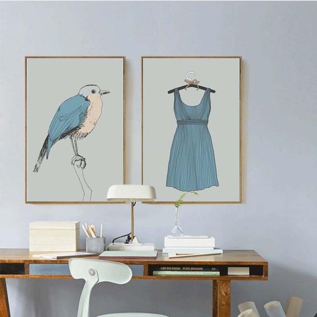 Garderobe Im Schlafzimmer | Haochu Nordic Kreative Dekoration Malerei Modernen Einfachen