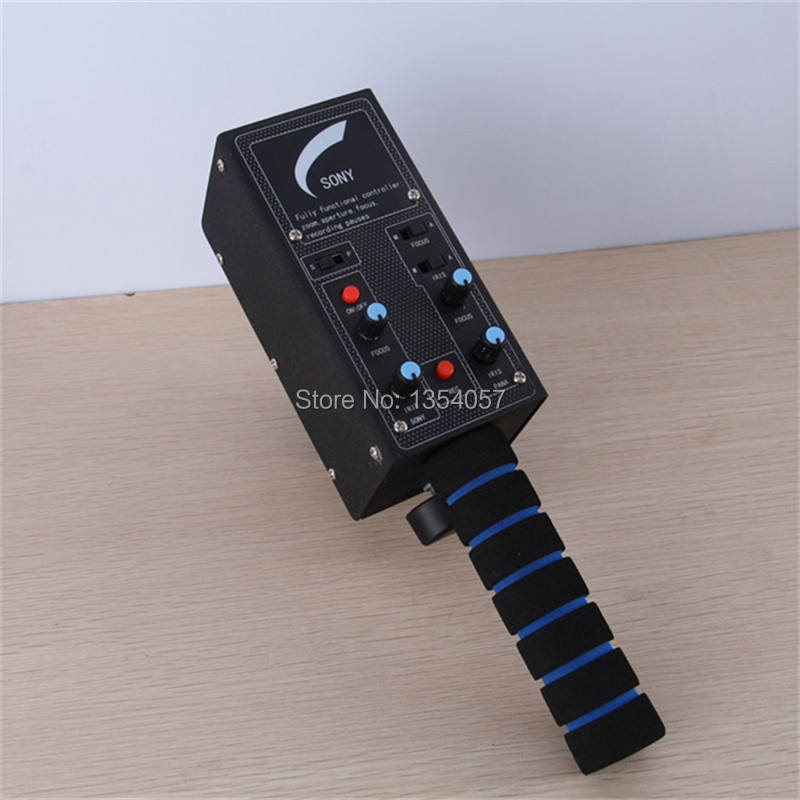 Point, le zoom, caméra universelle contrôleur avec iris focus zoom pour dv de SONY ou PANASONIC pour caméra potence grue