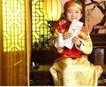 Chinês antigo traje menino prince roupas com chapéu popular chinesa traje tang dinastia qing roupas robe para a fase 89