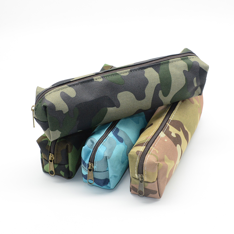 Camouflage Pencil Case School Etui Trousse Scolaire Stylo Canvas Kawaii Pen Cases Pennen Etui Tools Lapices Box Astuccio Scuola