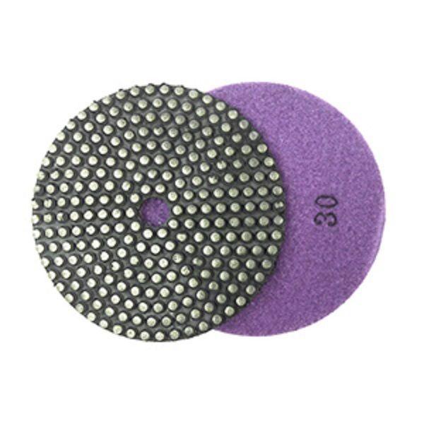 Tampon de polissage/meulage diamant vitrifié à liant métallique 5