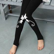 Summer Baby Kids Childrens printing cat Toddler Classic Leggings girls pants Girls legging 2-7Y baby girl leggings