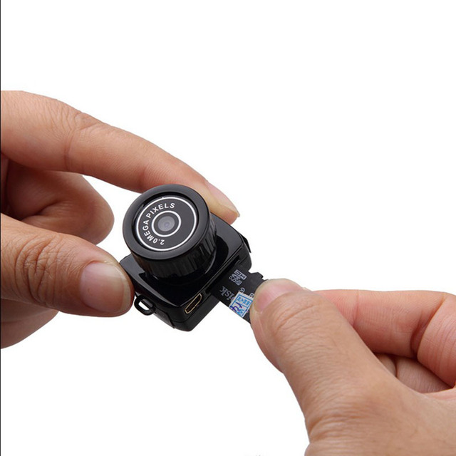 Tiny Mini Camera HD Video Audio Recorder Webcam 4