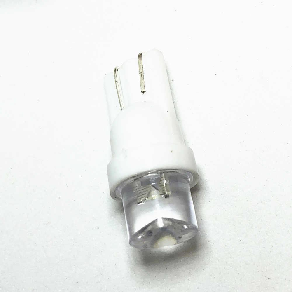 1 pièces T10 LED voiture feux de dégagement externe voiture lumières blanc LED coin côté ampoules lampe 194 168 SMD pour W5W LED ampoule de stationnement 12 V