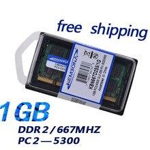 KEMBONA notebook memory laptop ddr2 1g 667mhz pc5300 sodimm ram memory full compatible