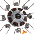 E-XY 8 in 1 Wire Prebuilt Coils Clapton Quad Tiger Hive Alien Fused Clapton Mix Twisted Coil fit DIY Atomizer for vape