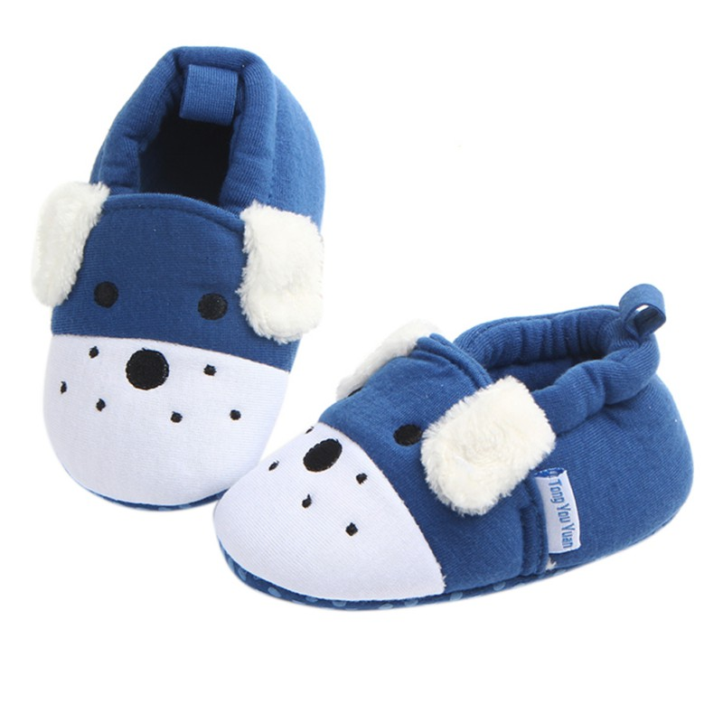 Newborn Infant Baby Boys Girls Soft Cotton Crib Shoes Anti Slip Toddler Shoes 3-11M Kids First Walkers Sneckers Moccasins
