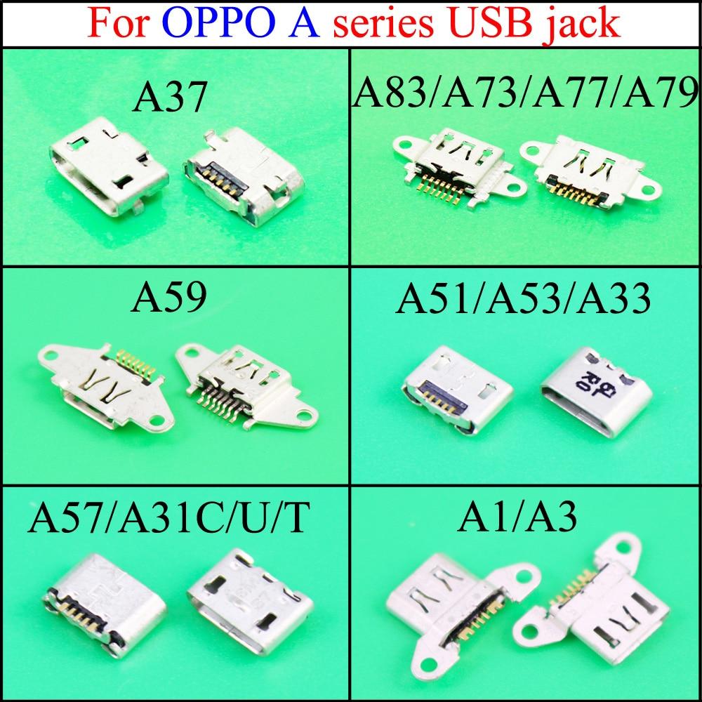 YuXi Tablet PC Mobile Phone Micro USB Charging Socket Jack For Oppo A37  A59 A83 A73 A77 A79 A51 A53 A33 A1 A3 A57 A31C /U/T