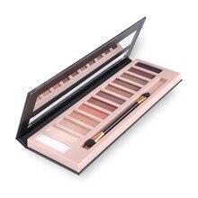 2017 Cosmetic Makeup Shimmer Matte Make Up Palette Glitter Makeup Color Pigment Eyeshadow Palette Sombras Nudes