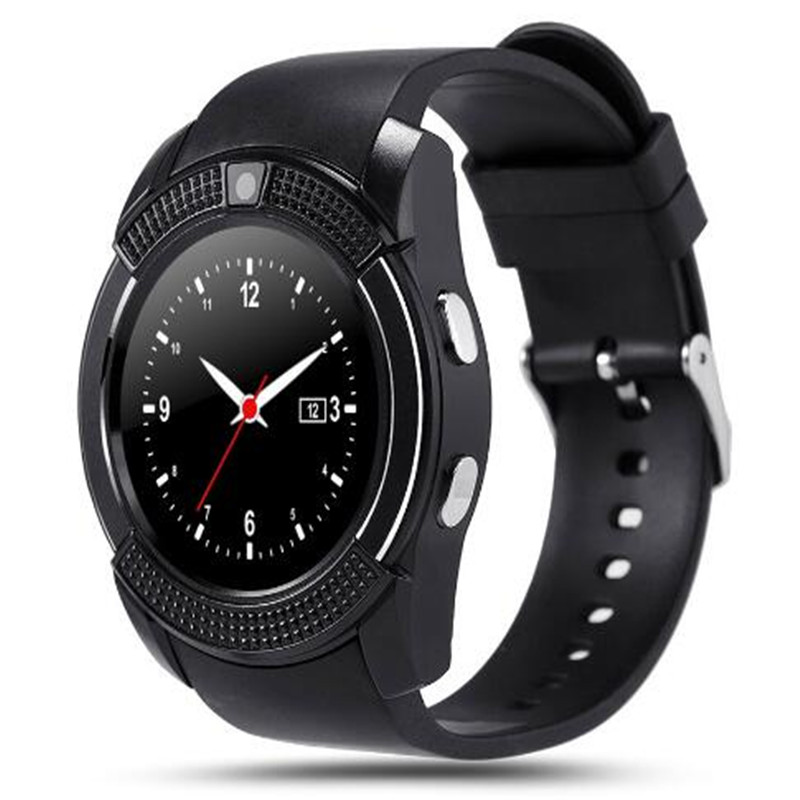 V8 Bluetooth Smart Watch With Camera Bluetooth WristWatch For IOS Android Phone Smartwatch PK U8 A1 DZ09 M26 GT08 GV18 T8 X6 Q18