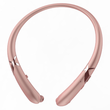 Bluetooth Headset Retractable Earbuds Neckband