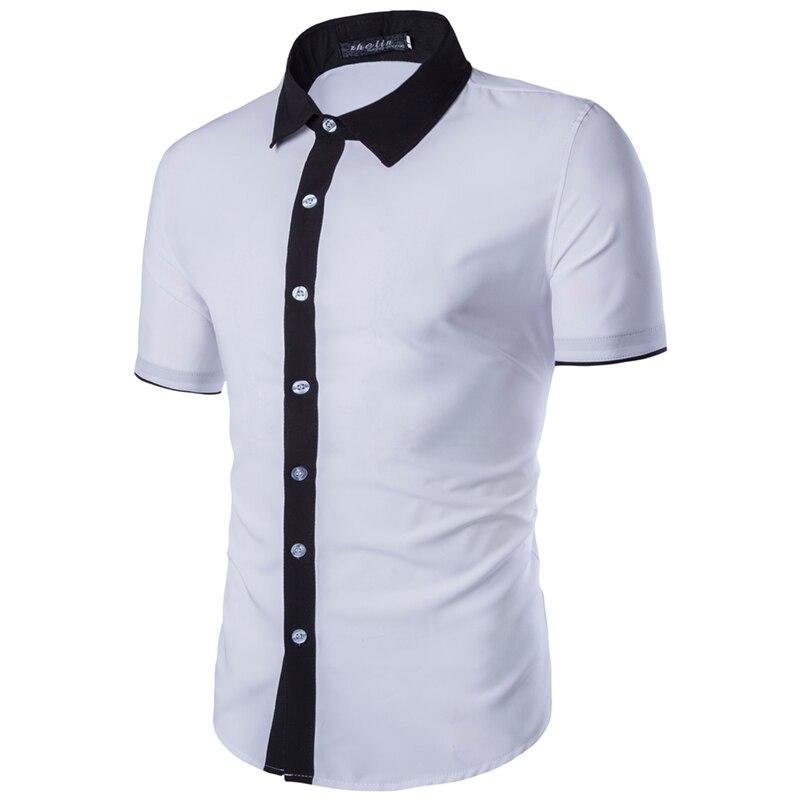 Popular Mens Short Sleeve White Dress Shirts-Buy Cheap Mens Short ...