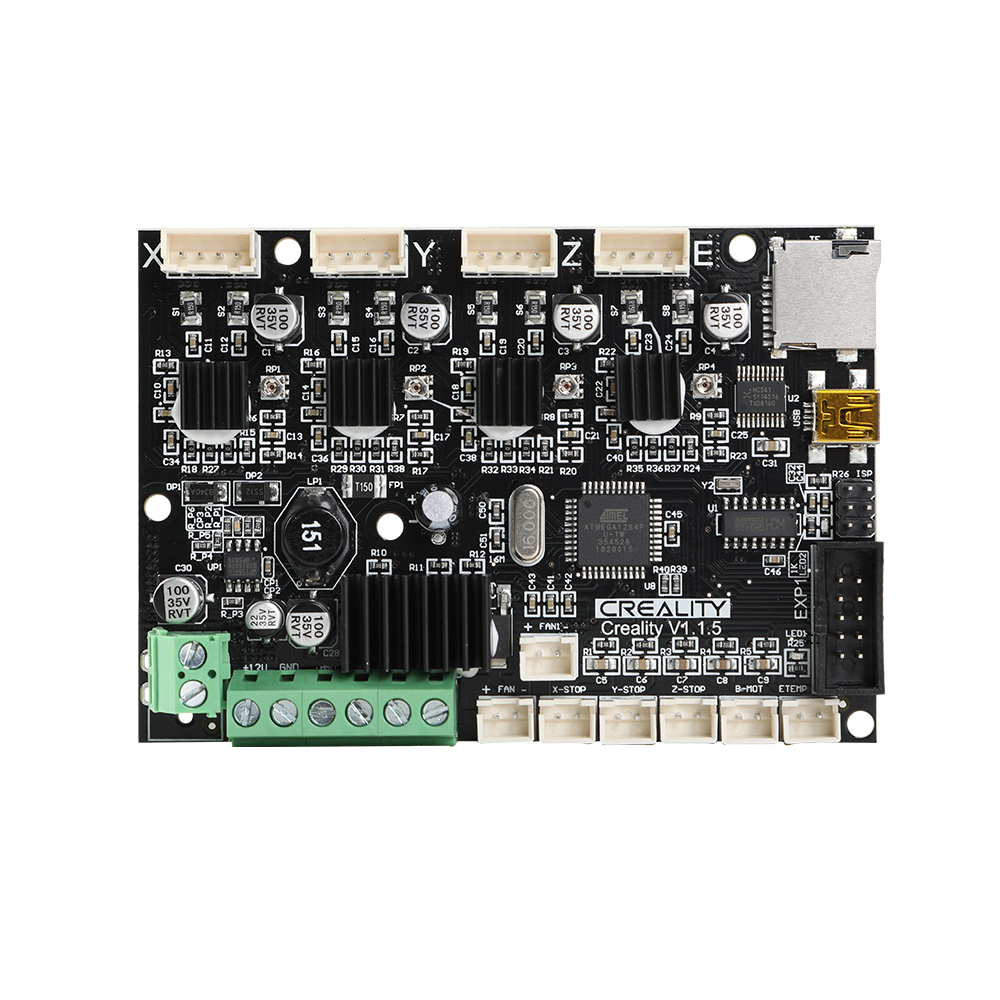 Creality 3D Upgraded Version V1 1 5 24V Super Silent Mainboard Motherboard With TMC2208 Driver For