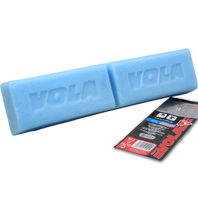 VOLA Ski Snowboard Training Wax 500g Red Block Waxes Ideal For Ski Clubs Junior Racing Training Intermediate snow Temperature