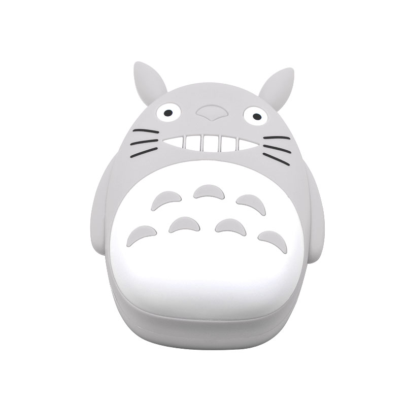 Neue ankunft 12000 mah tragbare LED totoro power bank cartoon universelle externe batterie fall ladegerät Für iPhone X Für Xiaomi