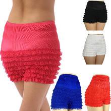 d1f3ae364357 Sexy Muliti Layered Mesh Ruffled Panty Women Intimates Underwear Lingerie  Lace PLus Size Hot Panties(
