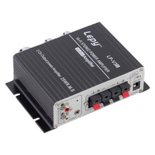12V 25W Mini Hi-Fi Stereo Amplifier Amp mp3 For iPod Motorcycle and Car,free shipping just in 2016