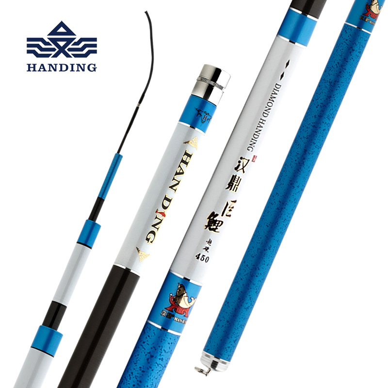 цена Handing super hard Fishing Rod Carbon high quality material Telescopic Rod Sea fishing Rod Taiwan Fishing Rod For big carp Fish