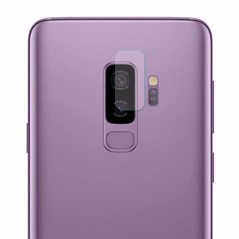 ENKAY Hat-Prince for Samsung Galaxy S9+ Back Lens Protector 0.2mm 9H Surface Hardness 2.15D Tempered Glass Film