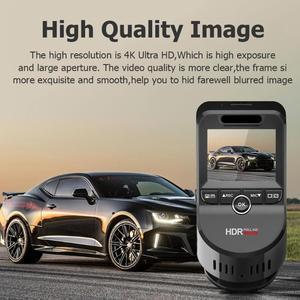 Image 3 - كاميرا أمامية للسيارات T691C 2 بوصة 4K 2160 P/1080 P FHD داش كام 170 درجة سيارة بعدسة مزدوجة كاميرا DVR مسجل مع المدمج في نظام تحديد المواقع الجديد