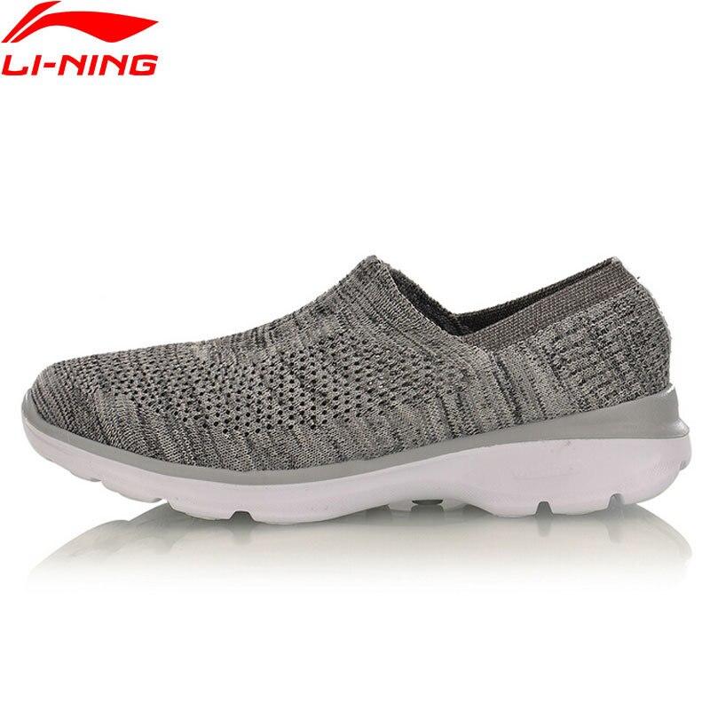 Li-Ning Women Walking Shoes Breathable Ls