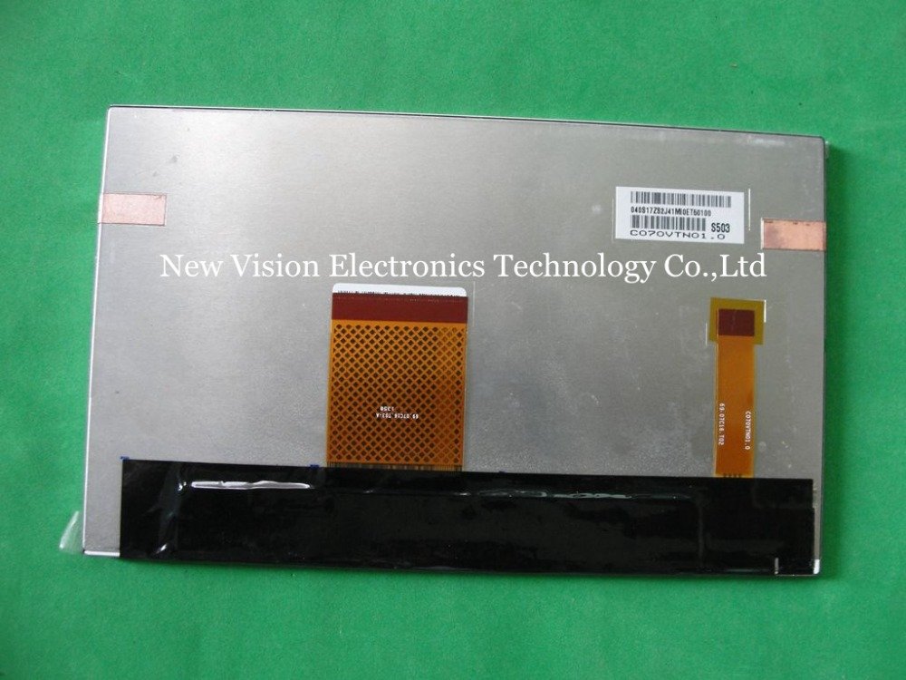 C070VTN01.0  C070VTN01 Original A grade 7 inch 800*480 LCD Display for Car GPS