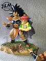 МОДЕЛИ ВЕНТИЛЯТОРОВ Dragon Ball Z 25 см Raditz Сын Гохан гк смола рис игрушки для Коллекции