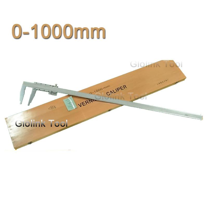 0 1000mm messschieber Heavy Duty Vernier Caliper 1000mm vernier caliper slider caliper without Upper Jaws paquimetro