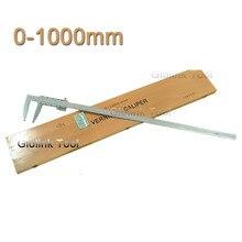 0-1000 мм сверхмощный штангенциркуль 1000 мм штангенциркуль слайдер суппорт без верхней челюсти paquimetro