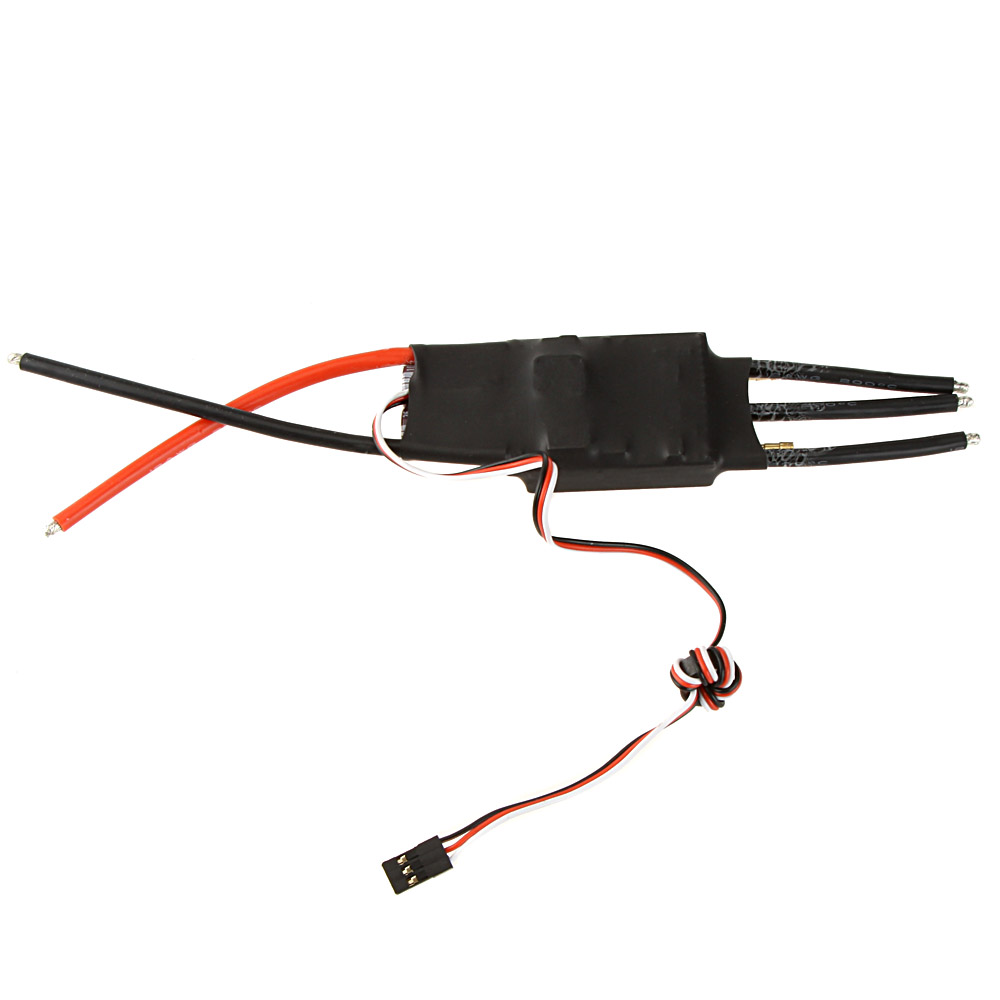 GoolRC 100A Brushless Water Cooling Electric Speed Controller ESC with 5V/5A SBEC for RC Boat Model 1pcs rc boat brushless esc waterproof 50a esc 2 6sbec 5 5v 5a electric speed controller for gasoline boats spare parts