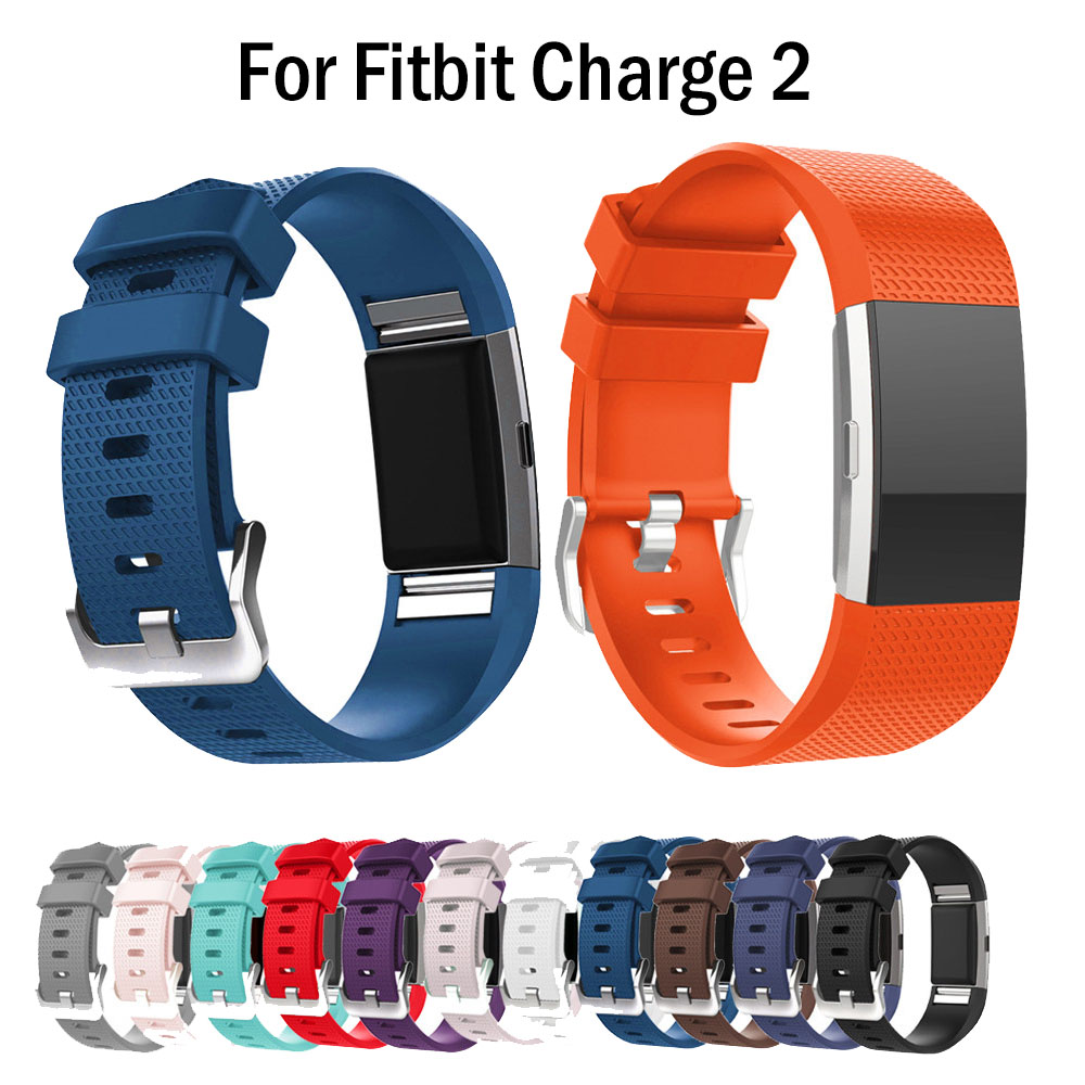 Best Wristband Wrist Strap Smart Watch Band Strap Soft Watchband Replacement Smartwatch Band For Fit Bit Charge 2 Fitbit Charge2