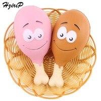 HziriP 5 stks/sets Squishy Kawaii Leuke Kip Benen Zachte Trage Stijgende Simulatie Voedsel Model Speelgoed PU Kids Fun Speelgoed Gift groothandel