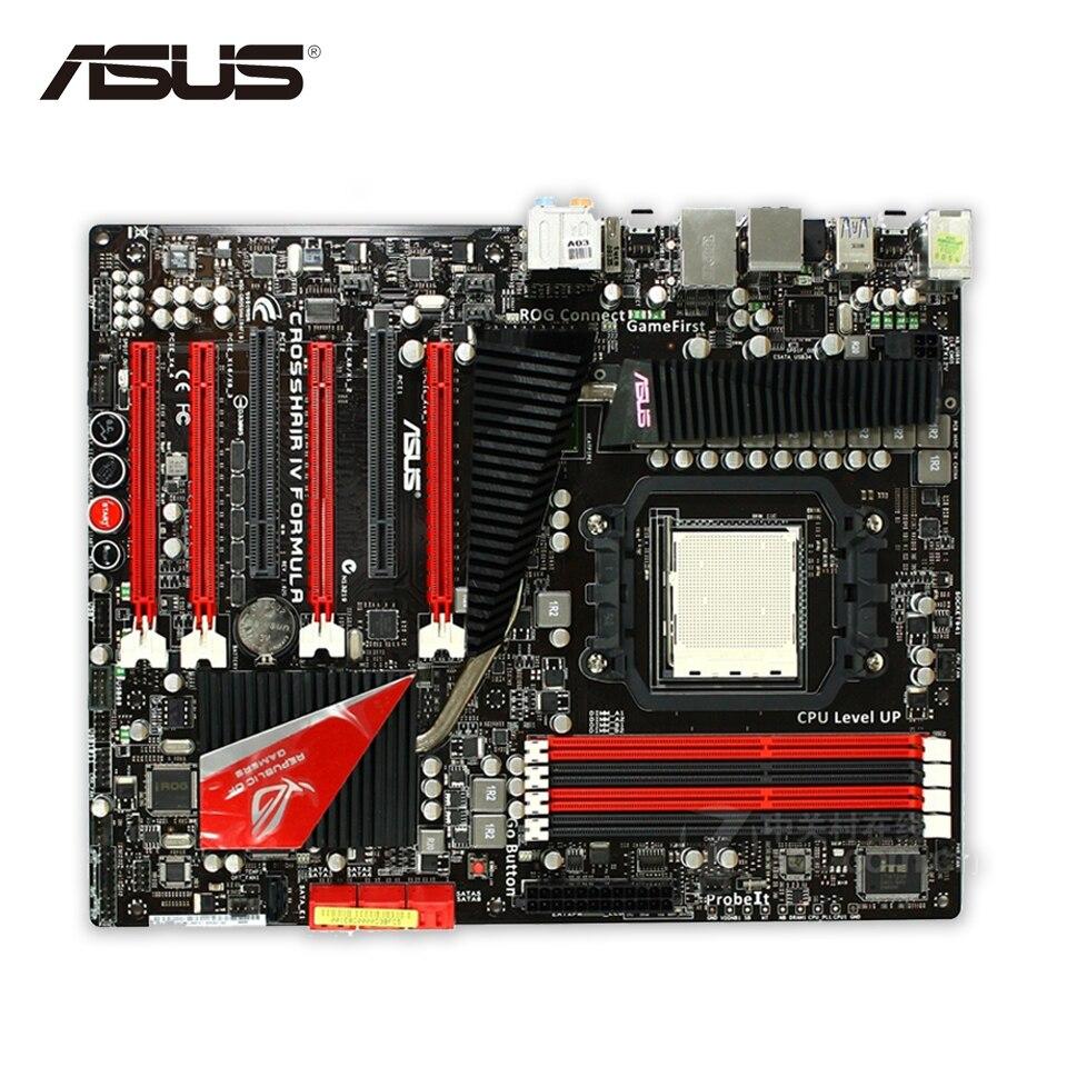 все цены на Asus Crosshair IV formula Desktop Motherboard 890FX Socket AM3 DDR3 SATA3 USB3.0 ATX Second-hand High Quality онлайн
