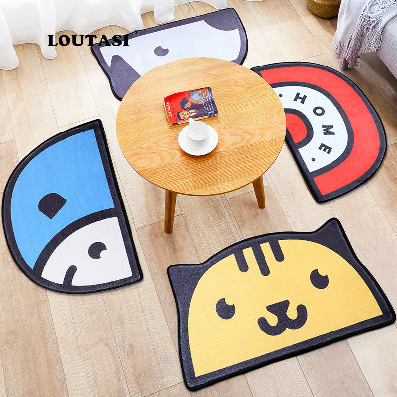 LOUTASI Cartoon Animal Carpet Rug Doormats Kids Bedroom Antiskid Area Rugs Balcony Living Room Hallway Floor Mat Carpet DoormatLOUTASI Cartoon Animal Carpet Rug Doormats Kids Bedroom Antiskid Area Rugs Balcony Living Room Hallway Floor Mat Carpet Doormat