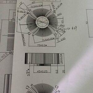 Image 2 - CPU cooler radiator cooling heatsink for Intel LGA1155 / 1156 93*93*35mm Aluminum radiator fan cooling Computer heatsink