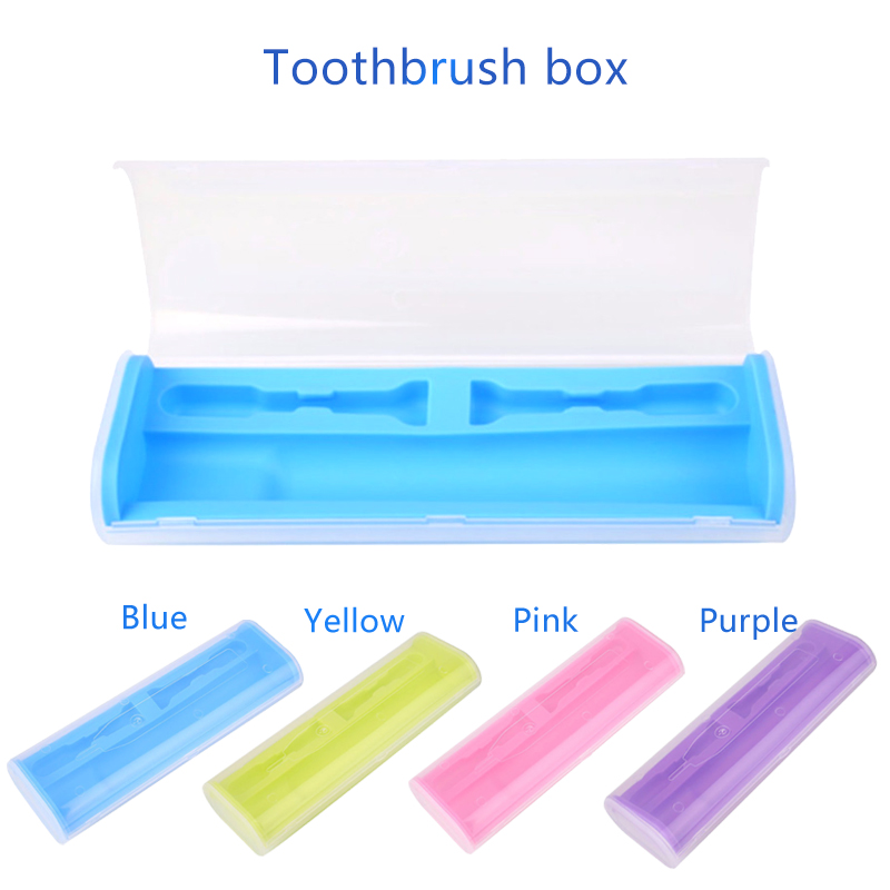 Tsmile Teeth Whitening Electric Toothbrush Storage Organizer Box Case Holder Bathroom Travel Camping Portable for Philip series image