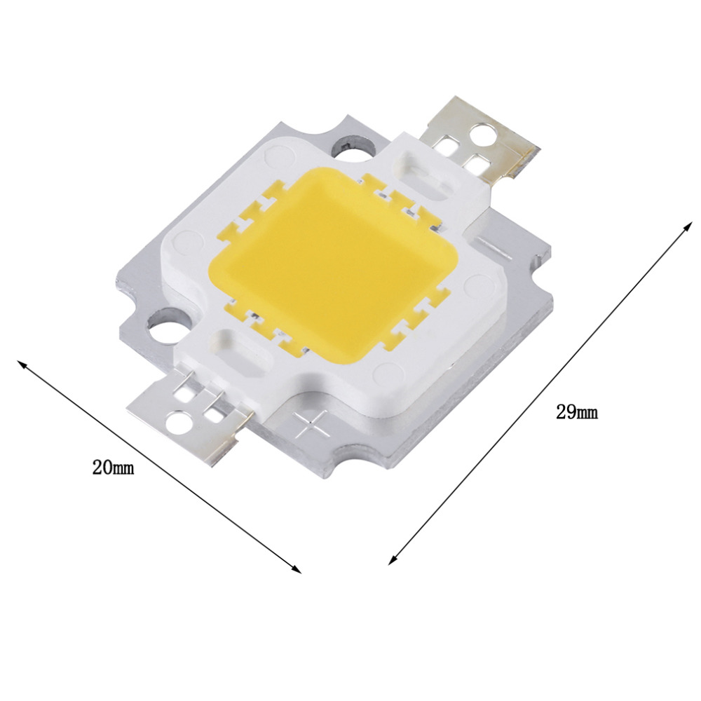 Hot 10W Warm White LED Chip SMD High Power LED Bulb Bead For Flood Lights New