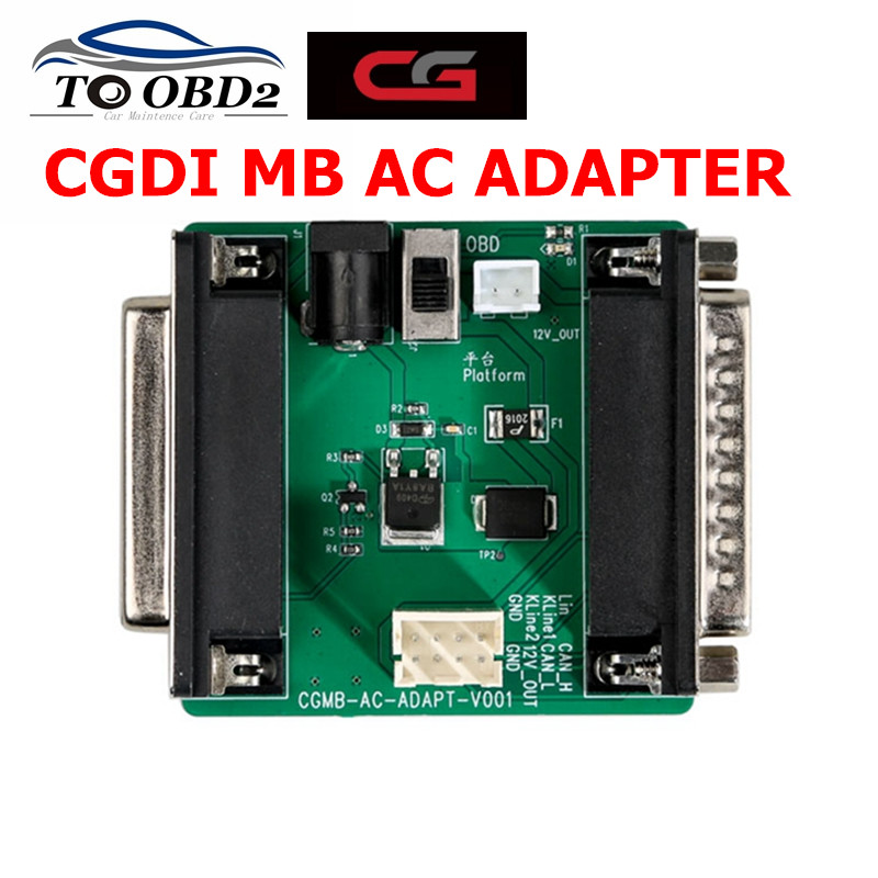 Original CGDI MB AC Adapter For Data Acquisition Work with Mercedes W164 W204 W221 W209 W246