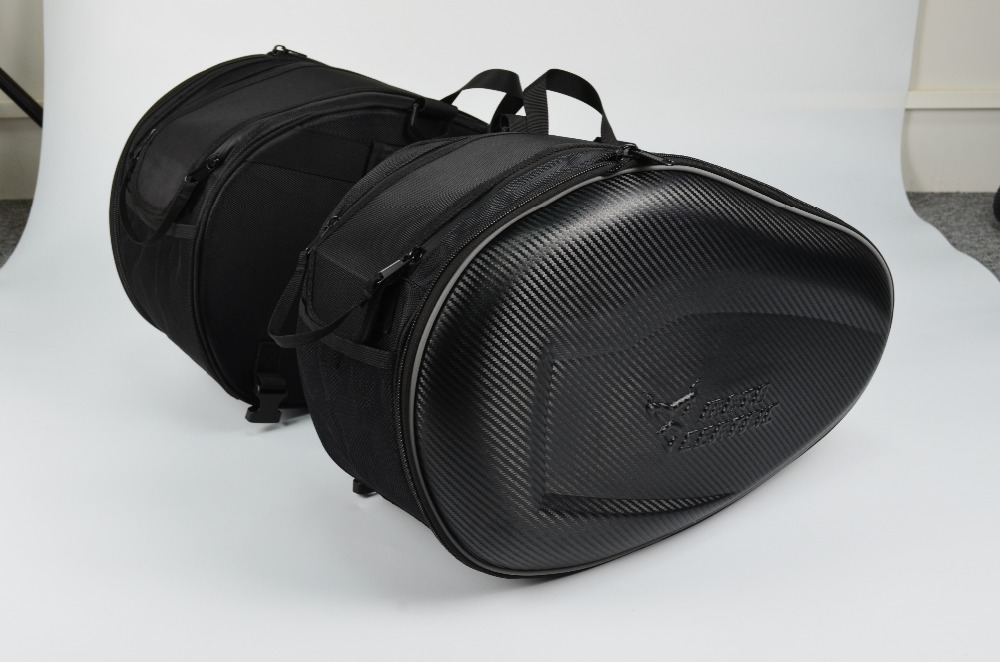New ride saddle bag motorcycle bags racing off road bags car nets