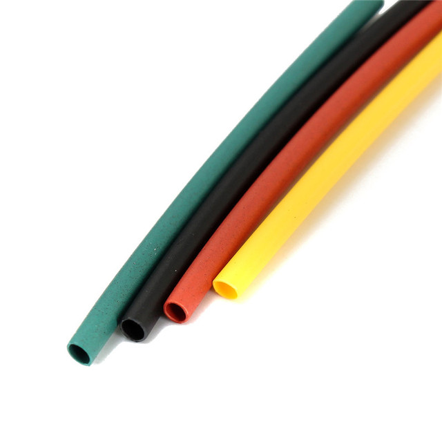 328Pcs 8 Sizes Multi Color Polyolefin 2:1 Halogen-Free Heat Shrink Tubing Tube Assortment Sleeving Wrap Tubes 5