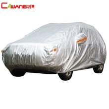 Cawanerl Cubierta Del Coche SUV Auto Sedán Hatchback Protección Anti UV Dom Lluvia Nieve Resistente A Prueba de agua Cubierta de Todo Tipo de Clima Adecuado!