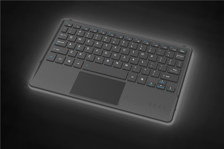 Teclado Bluetooh Z1 withTouch painel para 10.1