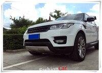 Для Land Rover Range Rover Sport 2014 2015 2016 2017 нержавеющая Передняя Задняя бампер противоскользящая защитная пластина