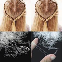 200/500 шт. аксессуары для волос мини оплетка для волос резинка для галстука конский хвост держатель эластичный резиновый прозрачный для