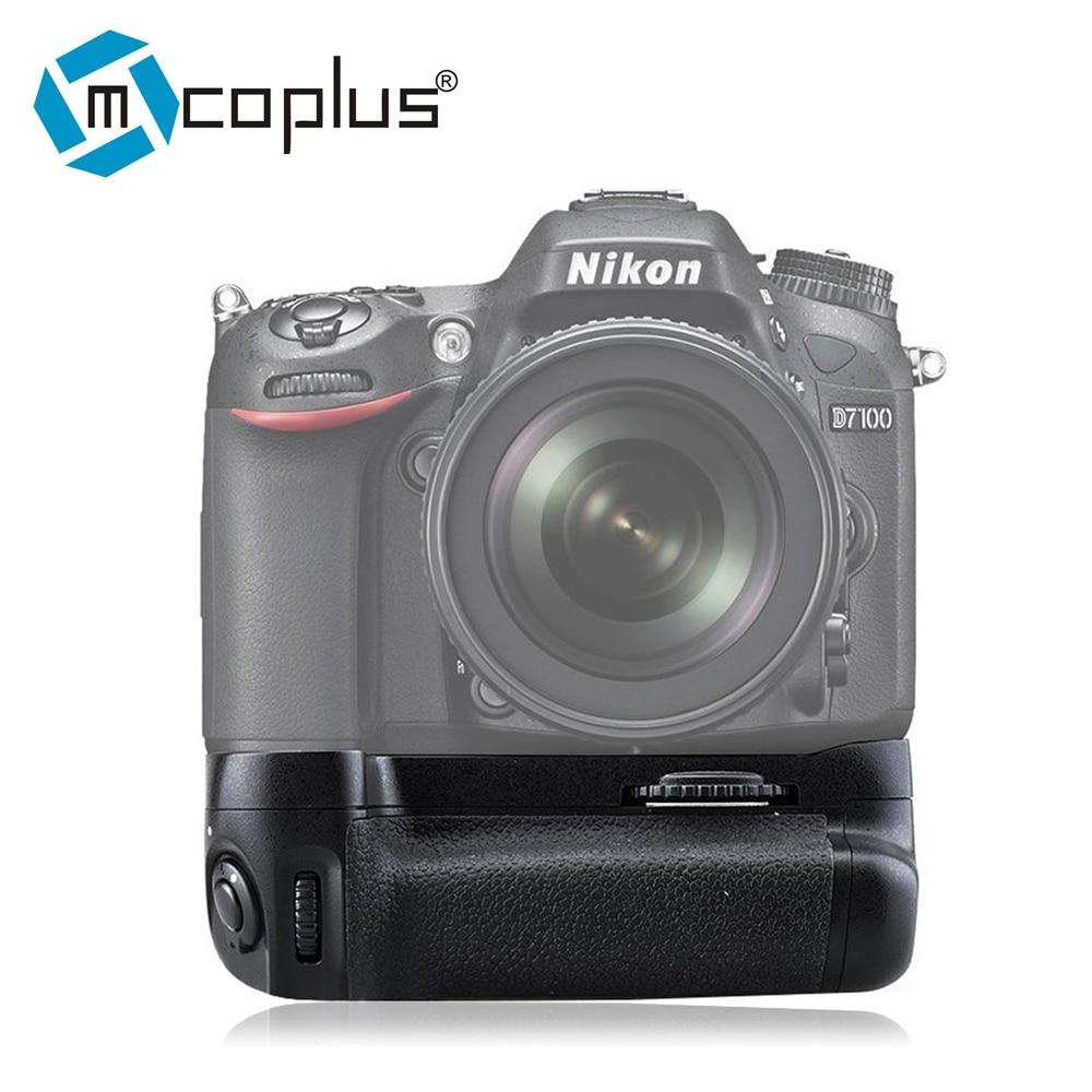 Nikon D7100 용 Mpplus Venidice VD-D7100 배터리 그립이 Meike MK-D7100과 같이 EN-EL15로 MB-D15를 대체합니다.