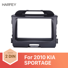 Harfey Superb 2Din Car Radio Fascia for KIA SPORTAGE 2010+ Stereo Interface Audio Fitting Adaptor Trim Panel Kit